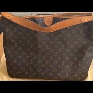 Authentic LV delightful MM bag